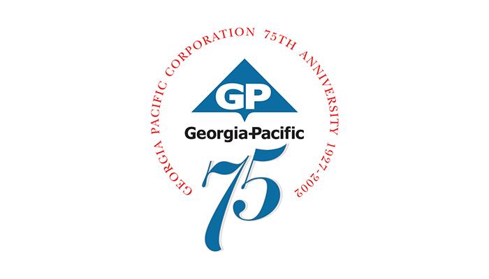 georgia_pacific_75_year_logo