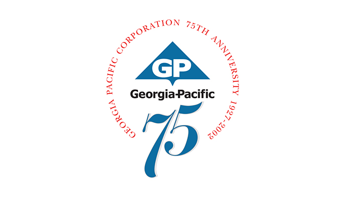 georgia_pacific_75_year_logo